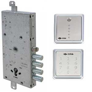 Электромоторный замок для входной двери Cisa MyEvo