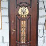 """Входная дверь """"часы"""""""