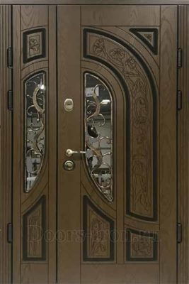 Дверь с терморазрывом и ковкой